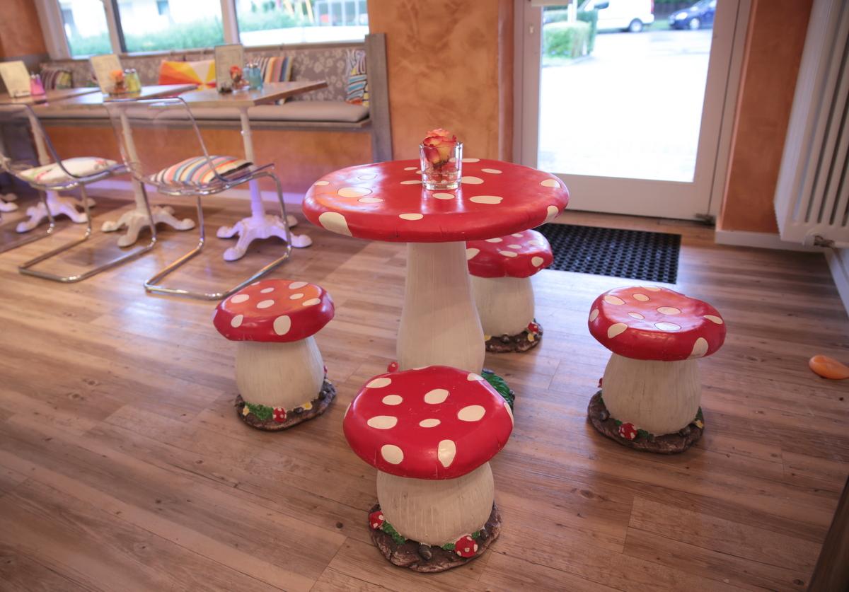 Für unsere kleinen Gäste: Die fliegenden Pilze