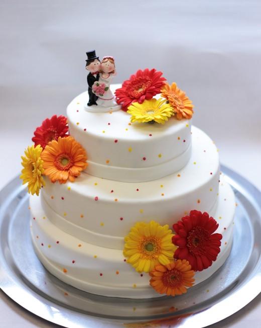 Hochzeitstorte-Punkte
